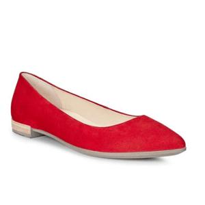 ECCO Shape Pointy 爱步 女士真皮平底鞋