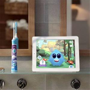 Philips飞利浦 HX6322 蓝牙版声波震动儿童牙刷(两刷头)+赠品