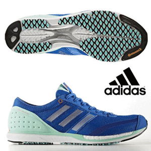 adidas阿迪达斯 Takumi Sen BOOST 3 男士跑鞋*2双 橙色/蓝色