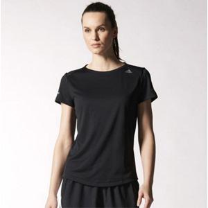 adidas阿迪达斯 Sequencials 女士跑步短袖T恤