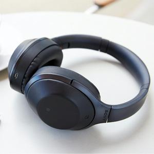 SONY索尼HIFI MDR-1000X头戴式无线蓝牙降噪耳机