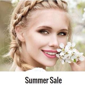 英淘美妆网站夏季大促升级5折+额外85折
