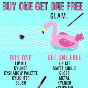 Kylie Cosmetics买一送一来袭