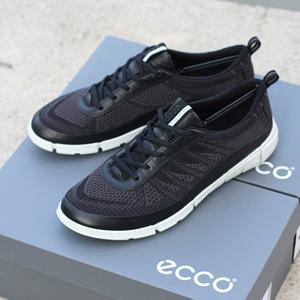 大码福利!ECCO爱步Intrinsic盈速 男士时尚运动鞋