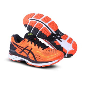 限尺码:ASICS亚瑟士 GEL-KAYANO 23 SuperWide男子跑鞋
