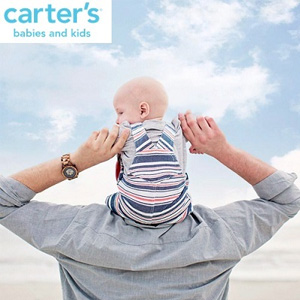 Carter's卡特美国官网全场童装低至$5+满$60额外7.5折