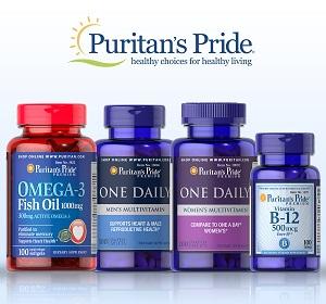 Puritan's Pride 普瑞登官网精选保健品买2送3+满额最高再减$50