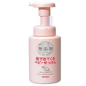 MIYOSHI无添加 泡沫型儿童洗面奶250ml 可全身用