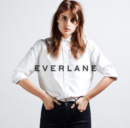 Everlane 官网多款新品即将上市 T恤$15起