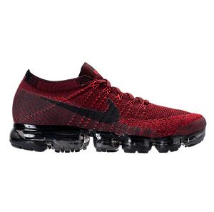 新配色上架!Nike 耐克 Air Vapormax Flyknit 运动跑鞋 红黑配色