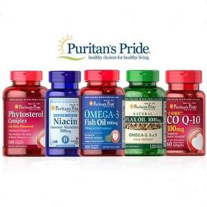 Puritan's Pride 普瑞登官网精选保健品买1送1/买2送3
