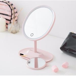 网易严选 指触LED子母化妆镜 2色