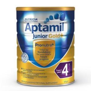 补货!Aptamil爱他美 金装婴幼儿配方奶粉(4段)900g