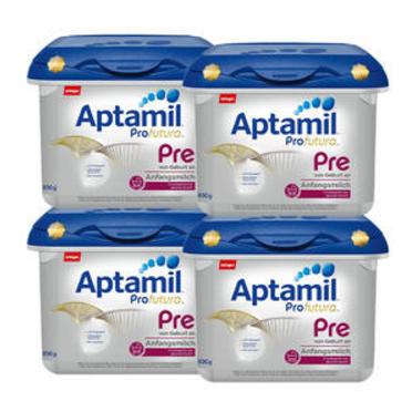 Aptamil爱他美Profutura白金版Pre段新生儿奶粉 800g*4盒