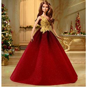 Barbie芭比娃娃 2016年节日收藏版