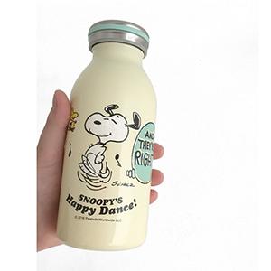 日本 OSK Snoopy合作款 保温杯350ml