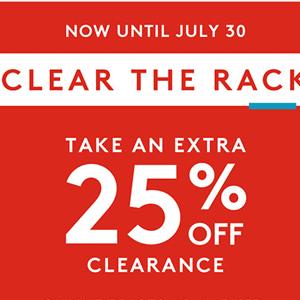 Nordstrom Rack 精选夏季清仓大促 低至2折+额外75折