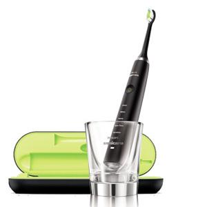 PHILIPS 飞利浦 Sonicare HX9352/04 黑钻 电动牙刷+HX9332/04 白钻