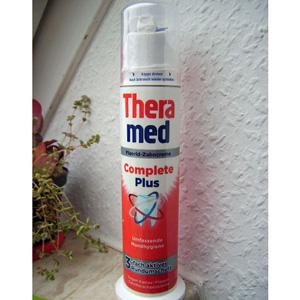 Theramed泰瑞美 站立式全效美白牙膏 去除牙渍100ml×3支