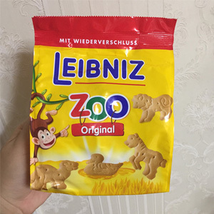 Leibniz小麦黄油动物饼干 125g*2