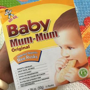 HOT KID Baby Mum-Mum婴儿磨牙米饼*24片 三种口味
