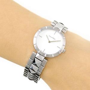 Calvin Klein Edge系列 K5T33146 女士不锈钢时装腕表