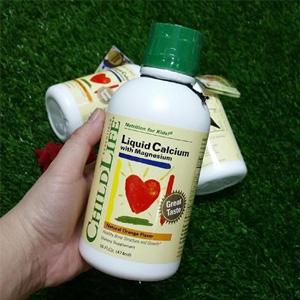 4瓶0税直邮!ChildLife童年时光 儿童液体钙镁锌 474ml