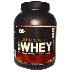 Optimum Nutrition欧普特蒙 100% 乳清蛋白粉双浓巧克力味 5磅