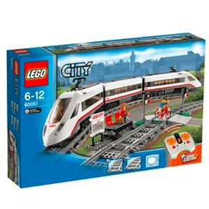 逼真大气!LEGO乐高City城市系列 高速客运列车60051