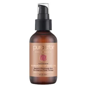 Pura d'or 纯天然有机 100%玫瑰果籽油 118ml