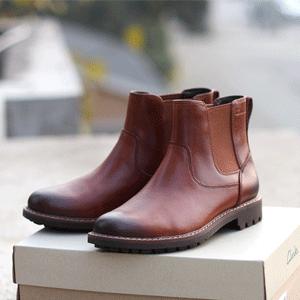 Clarks Montacute 男士切尔西短靴