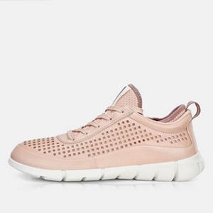ECCO爱步Intrinsic盈速 女士运动休闲鞋 粉色
