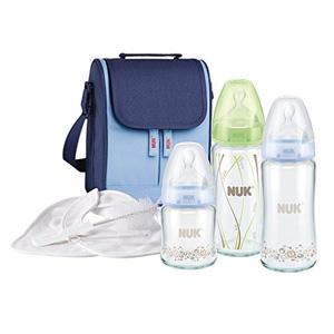 NUK 宽口玻璃奶瓶妈咪包 8件套装+凑单品