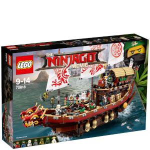 LEGO乐高Ninjago幻影忍者系列70618幻影忍者移动基地:命运赏赐号
