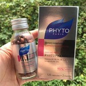 Phyto发朵 抗脱发防脱护发健甲胶囊 120粒