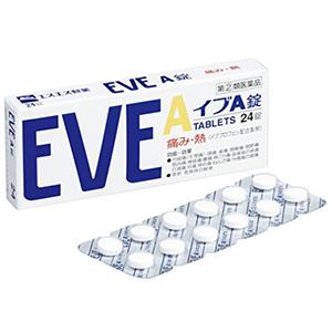 白兔制药 EVE A锭 去头痛片 24片