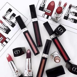 Dior 蓝星家族新成员夹心唇膏&液态唇釉上市