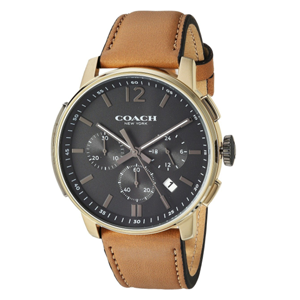 Coach Bleecker Chrono皮带男表