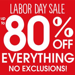 Gymboree官网有Labor Day劳工节全场低至2折+额外8折促销