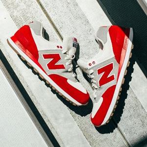 成人可穿!New Balance新百伦KL574大童款复古运动鞋