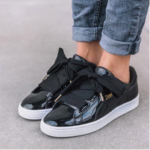 Puma彪马Basket Heart蝴蝶结女士运动鞋