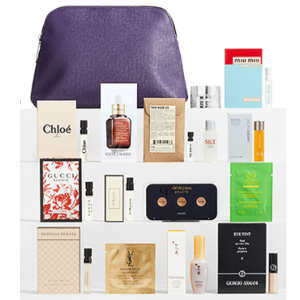 Nordstrom买美妆护肤产品满送礼包更新+品牌赠品