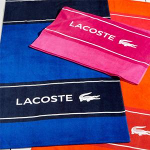 Macys现有Lacoste法国鳄鱼沙滩大浴巾