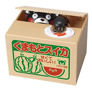 新款Kumamon 熊本熊 电动储钱罐