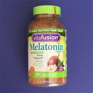 【更新】Vitafusion 褪黑素软糖 辅助睡眠 140粒