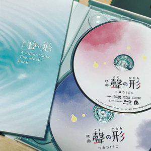 日本 声之形 初回限定版 蓝光光碟