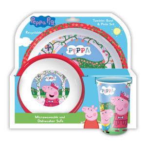 Spearmark 小猪佩奇儿童餐具水杯套装