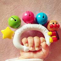 面包超人 婴儿手摇铃 牙胶