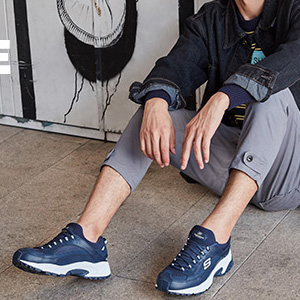 SKECHERS斯凯奇 SPORT系列 男款休闲运动鞋 两色