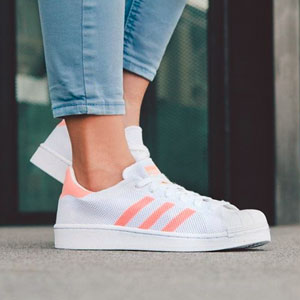 Adidas 三叶草superstar女款运动鞋